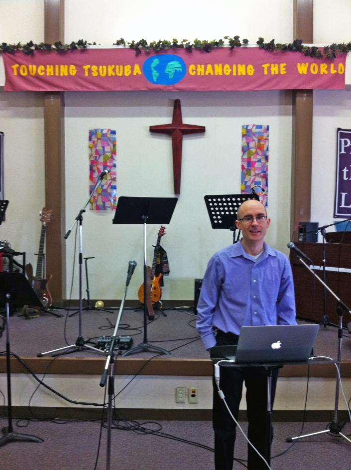 Chris Preaching