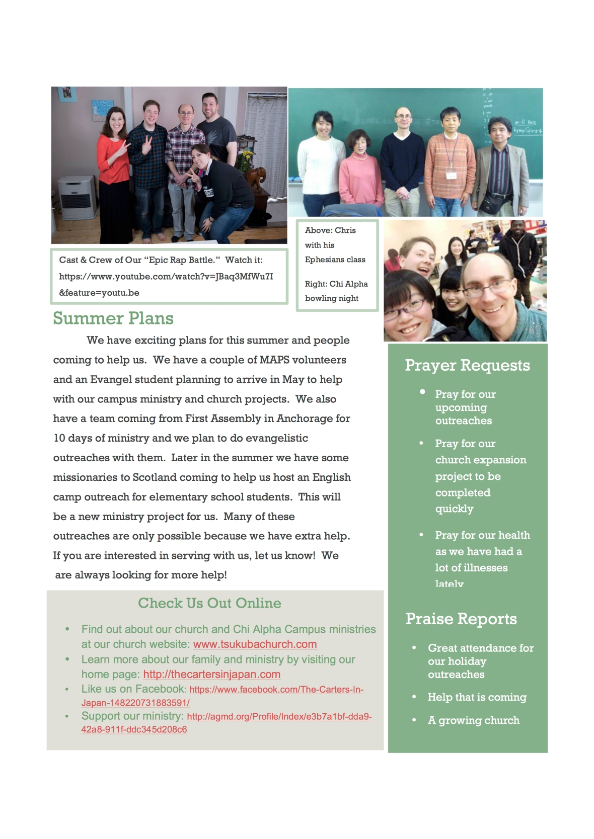 spring newsletter 2017page 2